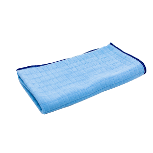 EXCASE – Microfaser Tuch Exterieur Gitter blau